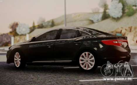 Hyundai Grandeur 2015 STOCK pour GTA San Andreas vue de droite