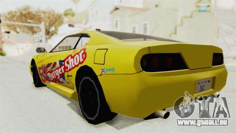 GTA 5 BuRGer Shot JeZter für GTA San Andreas zurück linke Ansicht