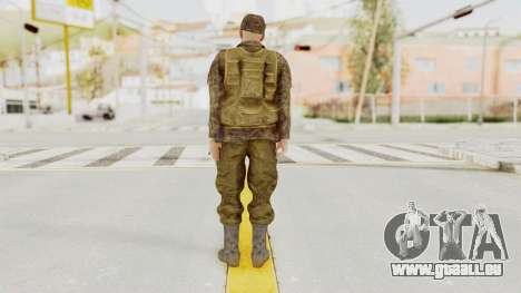 MGSV The Phantom Pain Soviet Union Vest v1 für GTA San Andreas dritten Screenshot
