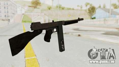 GTA 5 Gusenberg Sweeper Custom pour GTA San Andreas deuxième écran