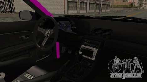 Nissan Skyline R32 Drift Monster Energy Falken pour GTA San Andreas vue intérieure
