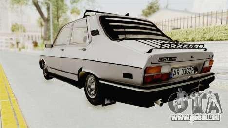 Dacia 1310 TX 1986 pour GTA San Andreas laissé vue