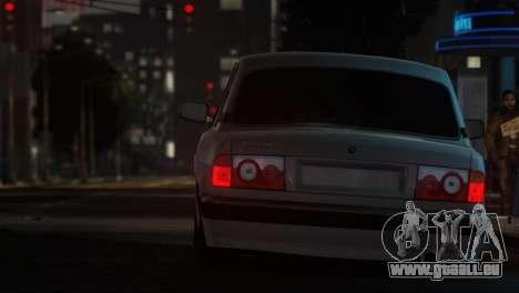 GAZ 31105 Tuning Aze Style für GTA 4 linke Ansicht