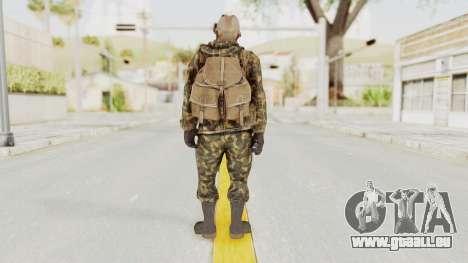 COD Black Ops Russian Spetznaz v6 pour GTA San Andreas troisième écran