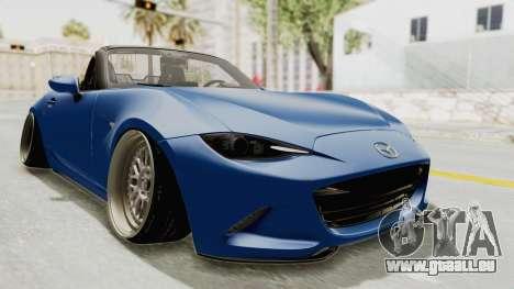 Mazda MX-5 Slammed für GTA San Andreas