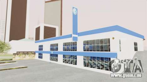 Volkswagen Showroom in San Fierro für GTA San Andreas