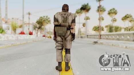 MGSV The Phantom Pain Venom Snake Desert pour GTA San Andreas troisième écran