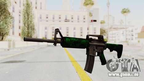 HD M4 v4 pour GTA San Andreas deuxième écran