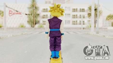 Dragon Ball Xenoverse Gohan Teen DBS SSJ1 v1 für GTA San Andreas dritten Screenshot