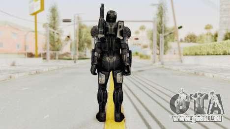 Marvel Future Fight - War Machine (Civil War) pour GTA San Andreas troisième écran