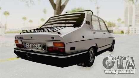 Dacia 1310 TX 1986 pour GTA San Andreas sur la vue arrière gauche