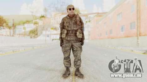 COD BO SOG Hudson v2 pour GTA San Andreas deuxième écran