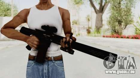 Colt M4 CQB S.W.A.T. für GTA San Andreas dritten Screenshot