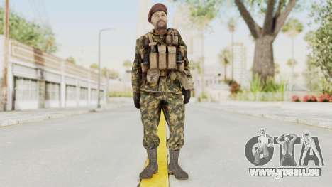 COD Black Ops Russian Spetznaz v7 für GTA San Andreas zweiten Screenshot