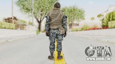 COD BO Russian Spetznas Flak MP v3 pour GTA San Andreas troisième écran