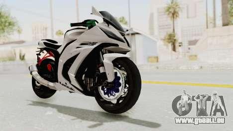 Kawasaki Ninja ZX-10R Modification für GTA San Andreas