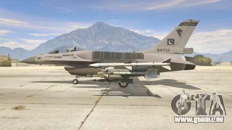 GTA 5 F-16C Block 52 zweite Screenshot