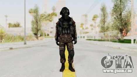 CoD MW3 Russian Military SMG v3 für GTA San Andreas zweiten Screenshot