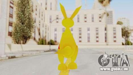 Kao the Kangaroo Gloves für GTA San Andreas dritten Screenshot