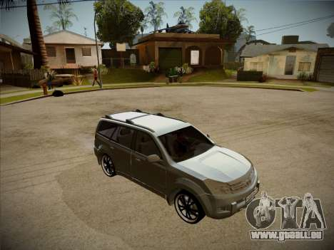Great Wall Hover H2 2008 für GTA San Andreas Seitenansicht