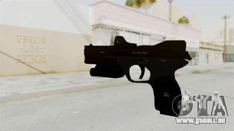 Killzone - M4 Semi-Automatic Pistol für GTA San Andreas zweiten Screenshot