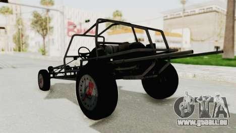 GTA 5 Space Docker pour GTA San Andreas sur la vue arrière gauche