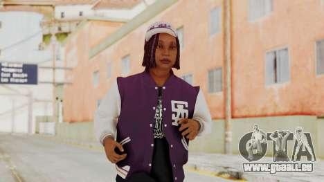 GTA 5 Ballas 3 pour GTA San Andreas