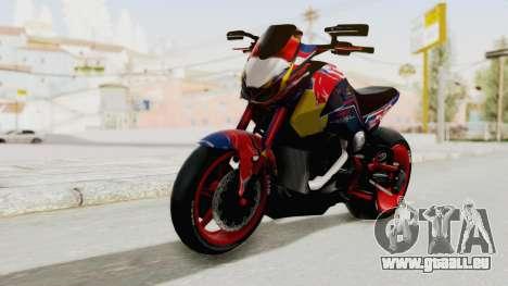 Honda MSX 125 Modified pour GTA San Andreas