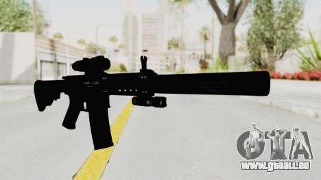 Colt M4 CQB S.W.A.T. für GTA San Andreas