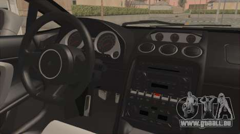Lamborghini Gallardo 2005 Monster Truck pour GTA San Andreas vue arrière