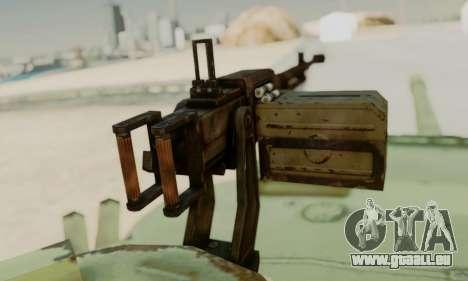DER T-72A für GTA San Andreas rechten Ansicht