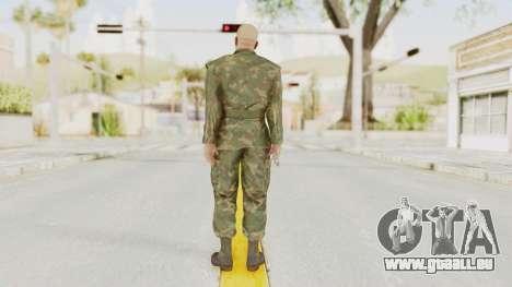 MGSV Ground Zeroes US Soldier No Gear v2 für GTA San Andreas dritten Screenshot