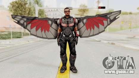Captain America Civil War - Falcon für GTA San Andreas zweiten Screenshot