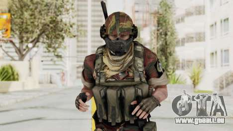 Battery Online Russian Soldier 4 pour GTA San Andreas