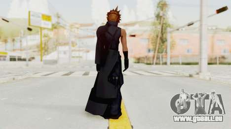 Kingdom Hearts 2 - Cloud Strife pour GTA San Andreas troisième écran