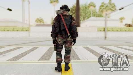 Battery Online Russian Soldier 6 pour GTA San Andreas troisième écran