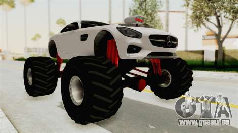 Mercedes-Benz AMG GT 2016 Monster Truck pour GTA San Andreas