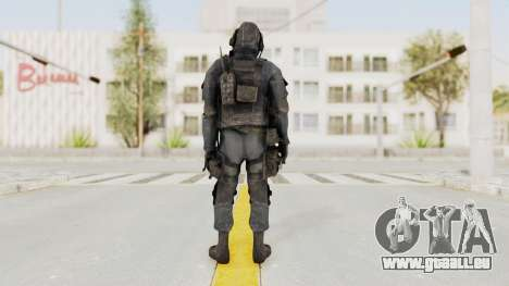 CoD MW3 SAS pour GTA San Andreas troisième écran