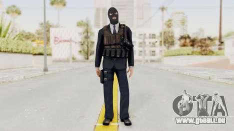 Bourne Conspirancy Euro Mercenary pour GTA San Andreas deuxième écran