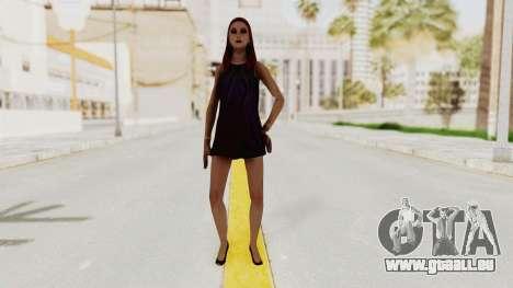 Sasha v2 pour GTA San Andreas deuxième écran