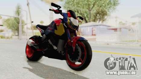 Honda MSX 125 Modified pour GTA San Andreas vue de droite
