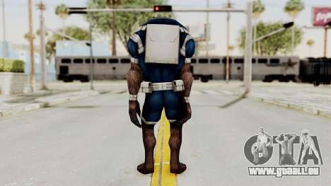 Marvel Future Fight - Warwolf für GTA San Andreas dritten Screenshot
