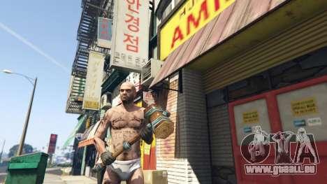 Wooden Fantasy Hammer pour GTA 5