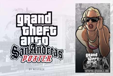 Poster GTA San Andreas HD für GTA San Andreas zweiten Screenshot