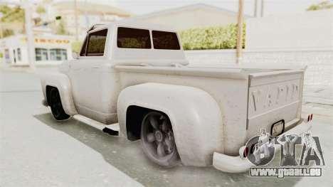 GTA 5 Slamvan Lowrider für GTA San Andreas linke Ansicht