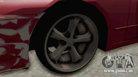 Nissan Skyline NAR32 pour GTA San Andreas vue arrière