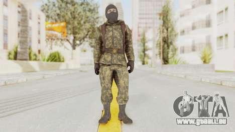 COD Black Ops Russian Spetznaz v2 pour GTA San Andreas deuxième écran