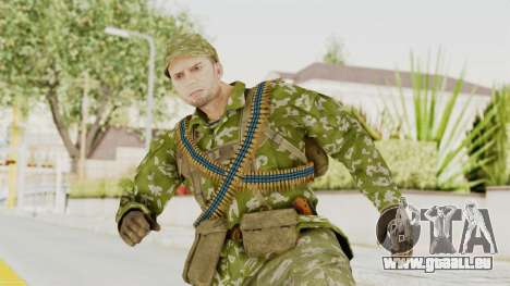 MGSV The Phantom Pain Soviet Union LMG v2 pour GTA San Andreas