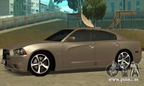 Dodge Charger pour GTA San Andreas sur la vue arrière gauche