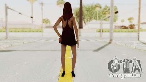 Sasha v2 pour GTA San Andreas troisième écran